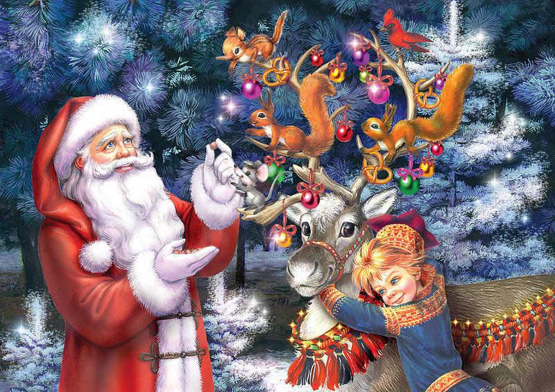 Сказка на новый год новогоднее чудо
